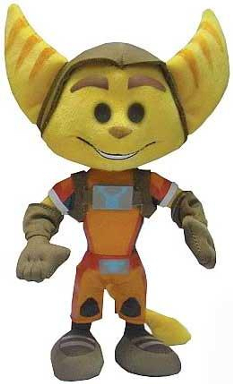 Ratchet and Clank All 4 One Ratchet 8-Inch Plush
