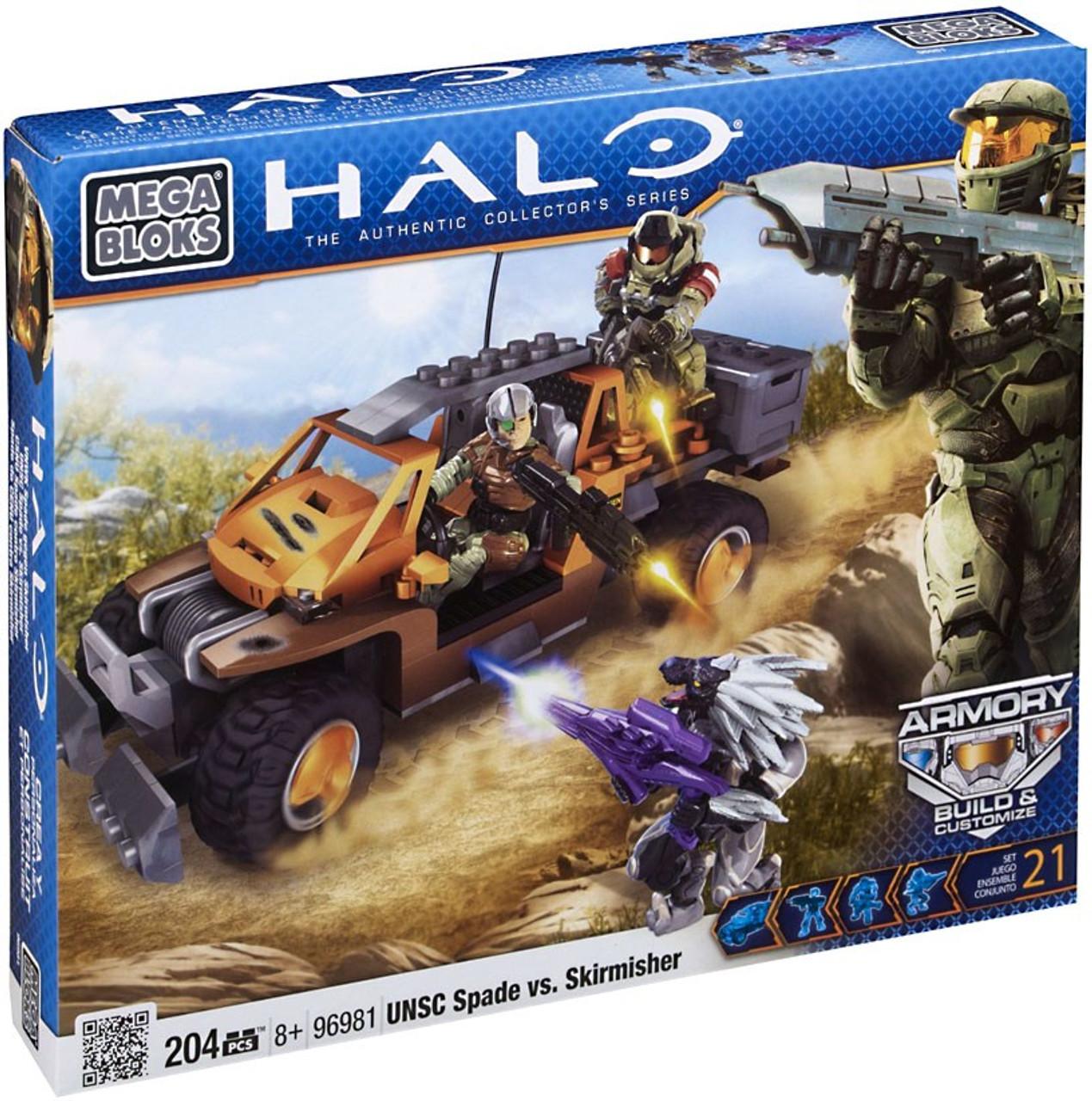 Mega Bloks Halo UNSC Spade vs. Skirmisher Set #96981