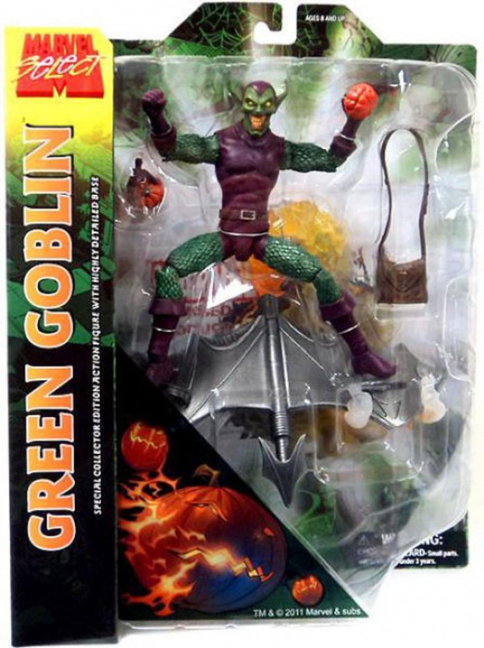 Marvel Select Green Goblin Action Figure [Holding Pumpkin]
