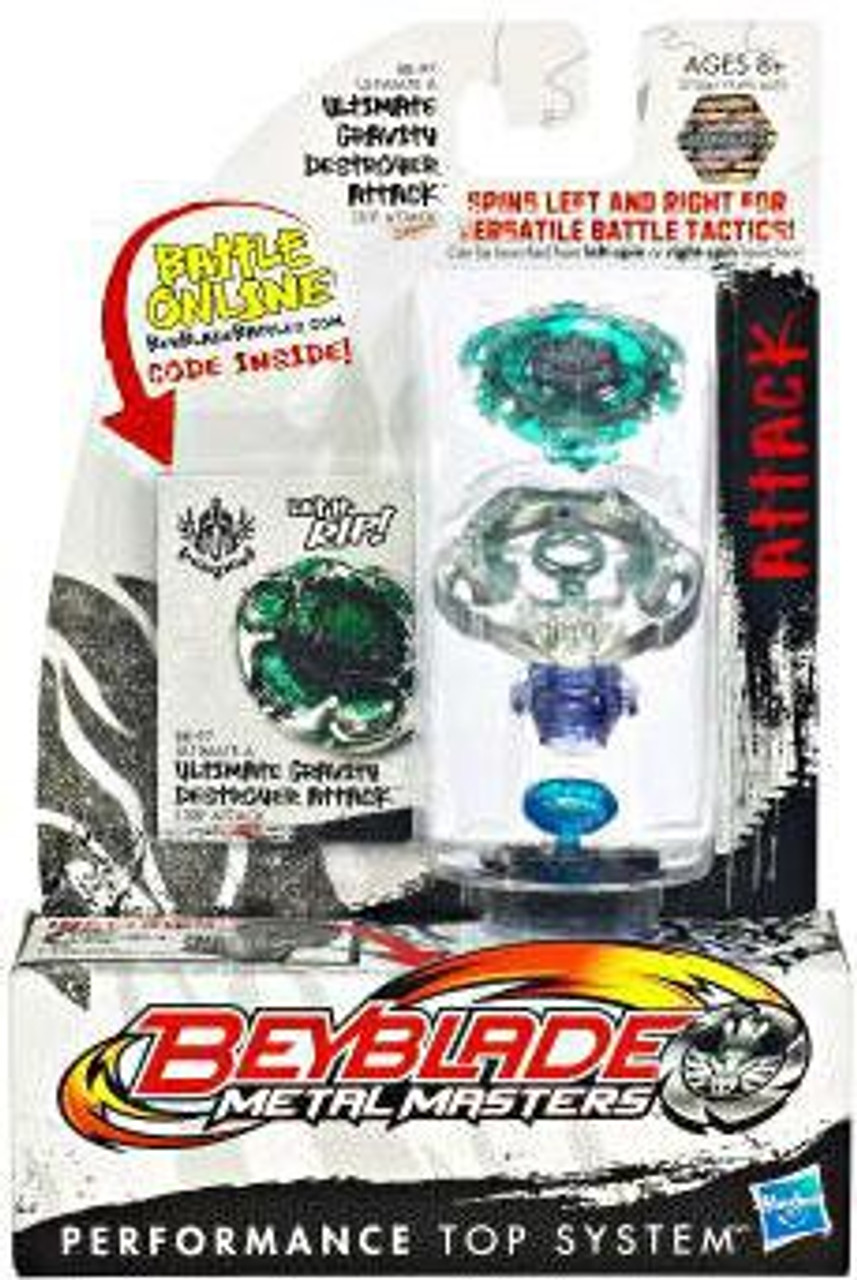Beyblade Metal Masters Ultimate Gravity Destroyer Attack Single Pack BB-97
