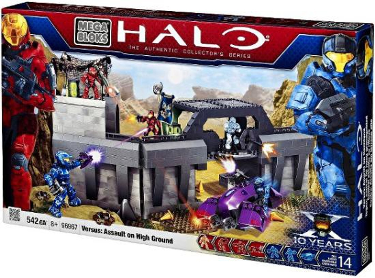 Mega Bloks Halo The Authentic Collector's Series Versus: Assault on High Ground Exclusive Set #96967