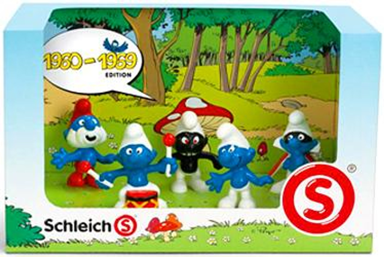 The Smurfs 1960-1969 Mini Figure 5-Pack #41255