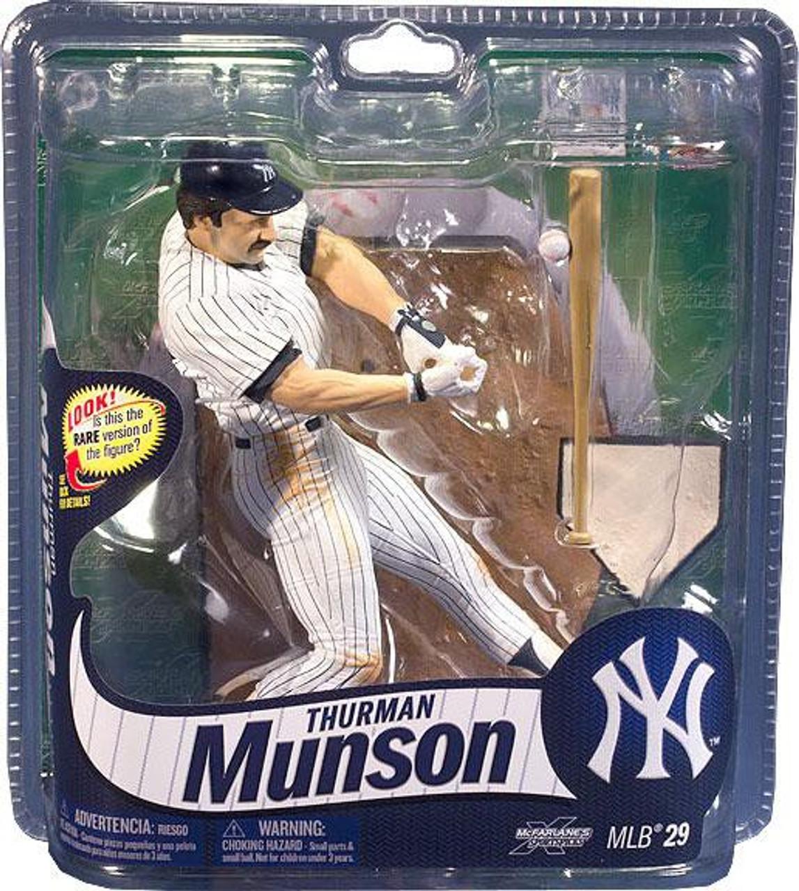 McFarlane Toys MLB New York Yankees Sports Picks Series 29 Thurman Munson Action Figure [White Jersey With Pinstripes]