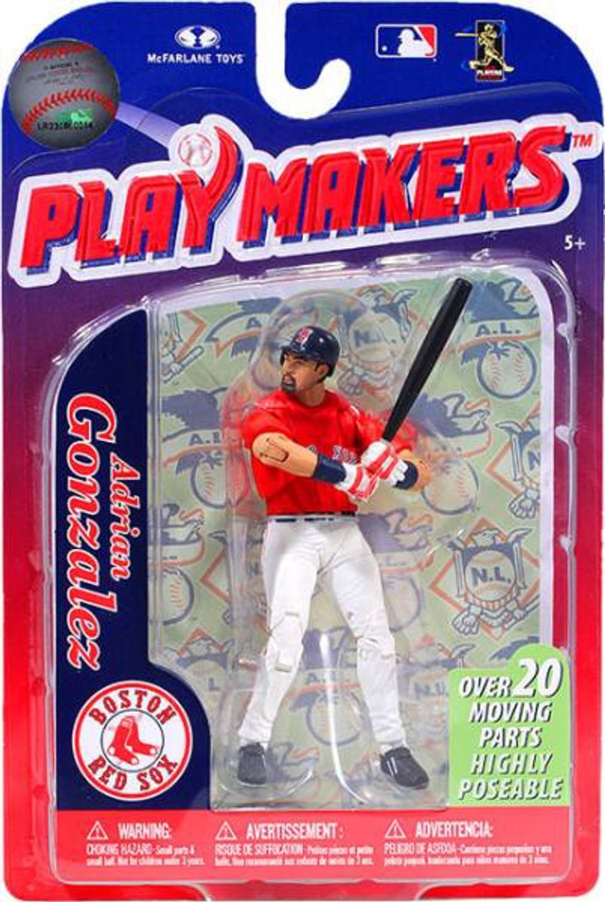 McFarlane Toys MLB Boston Red Sox Playmakers Series 3 Adrian Gonzalez Action Figure