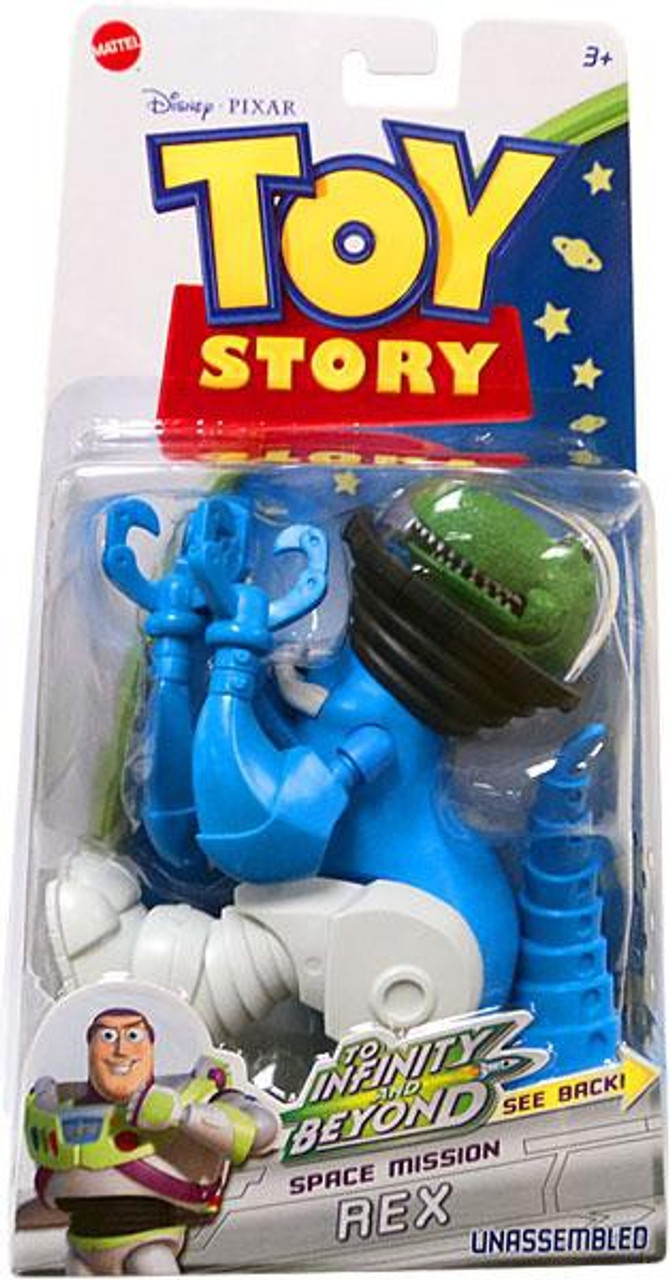 Toy Story To Infinity and Beyond Space Mission Rex Action Figure