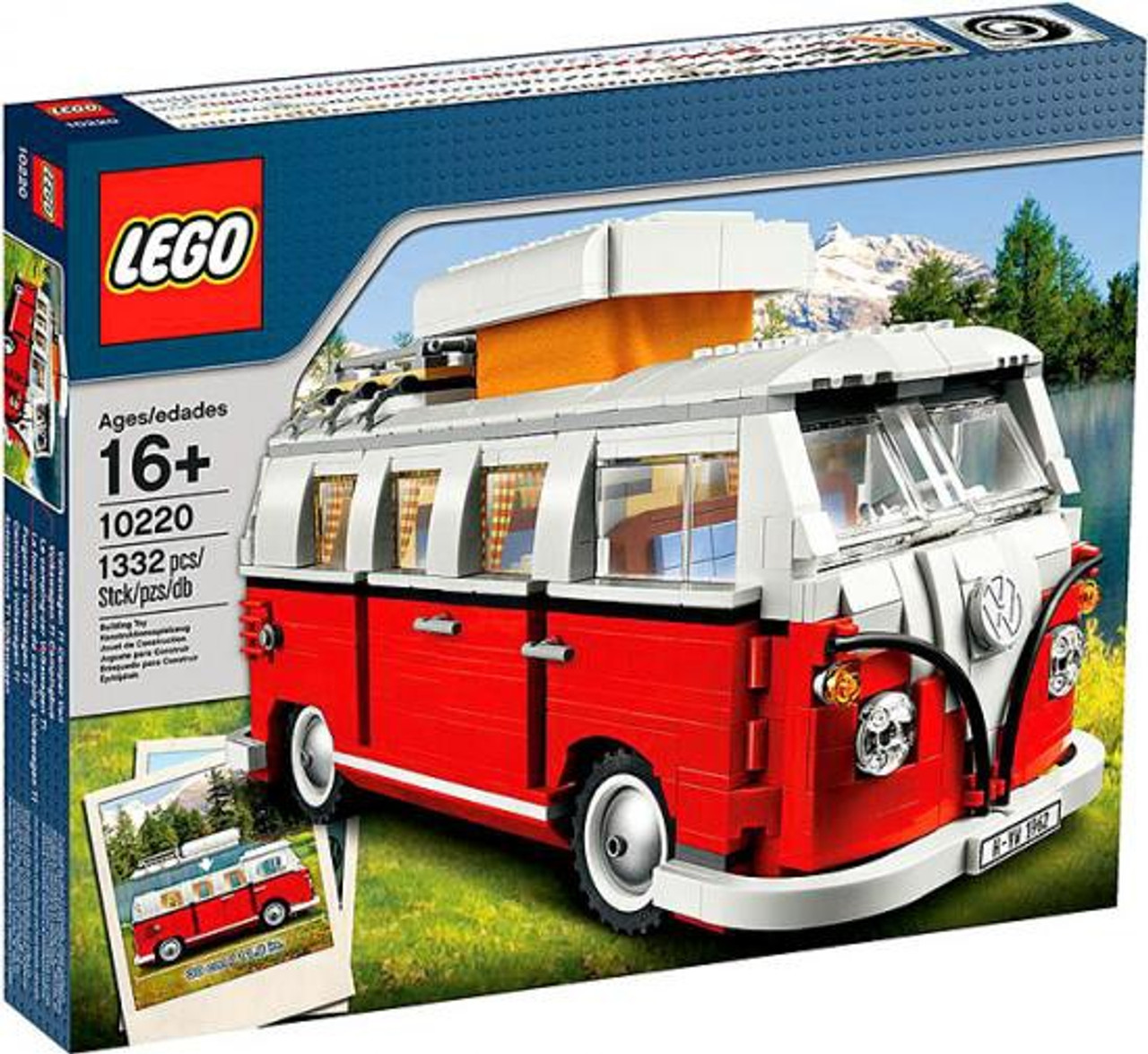 LEGO Exclusives Volkswagen T1 Camper Van Exclusive Set #10220