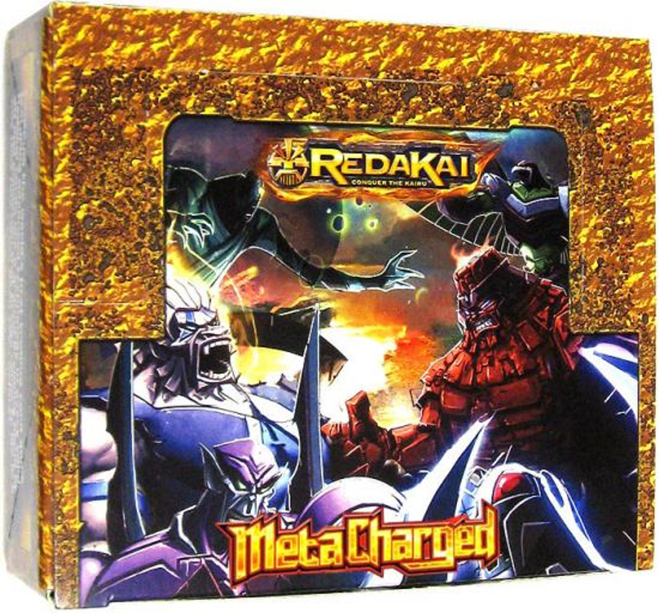Redakai Conquer the Kairu MetaCharged Gold Booster Box [Hobby Edition]