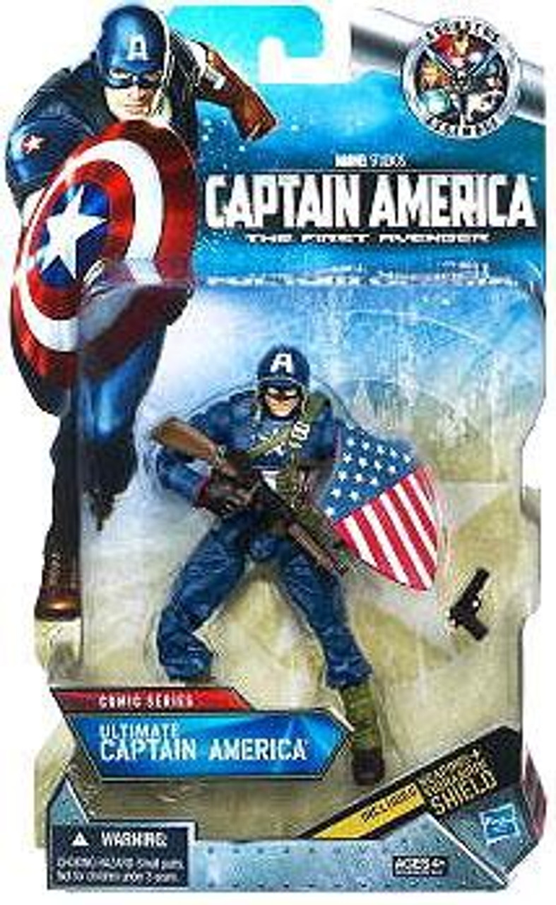 The First Avenger Comic Series 6 Inch Ultimate Captain America Exclusive Action Figure