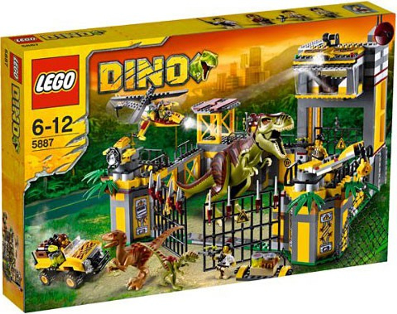 LEGO Dino Defense HQ Set #5887