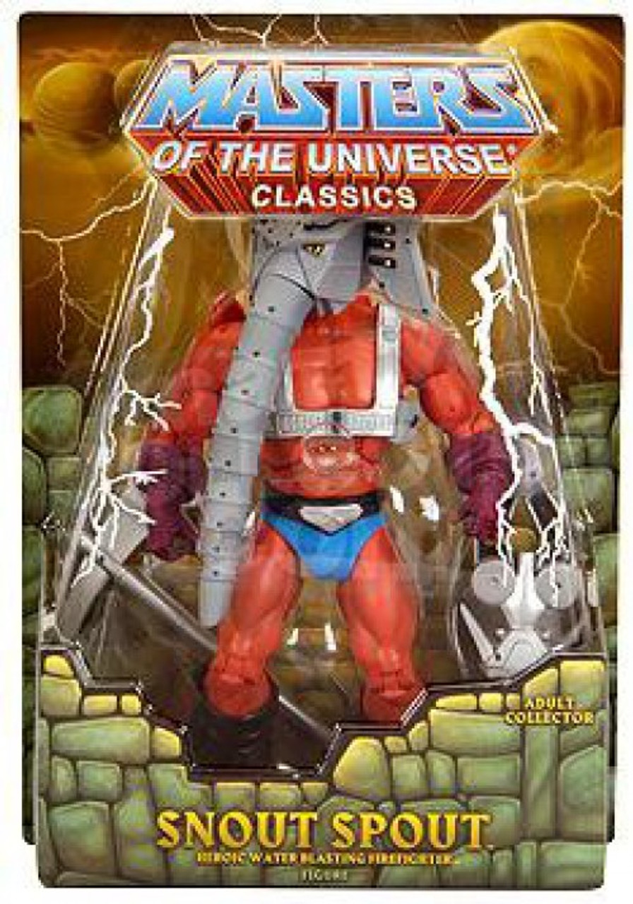 Masters of the Universe Classics Club Eternia Snout Spout Exclusive Action Figure