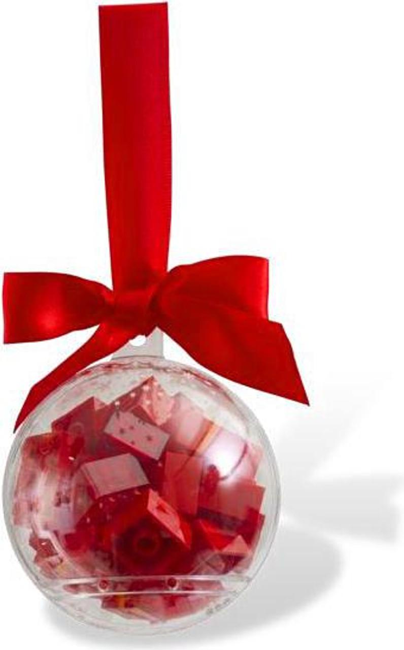 LEGO Holiday Ornament Set #853344 [Red Bricks]