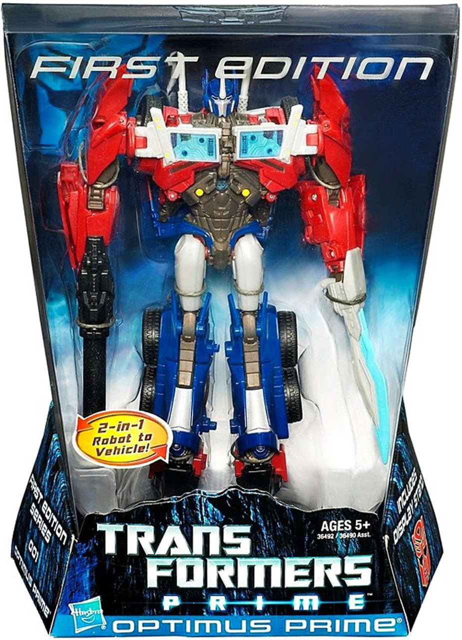 Transformers First Edition Voyager Optimus Prime Voyager Action Figure