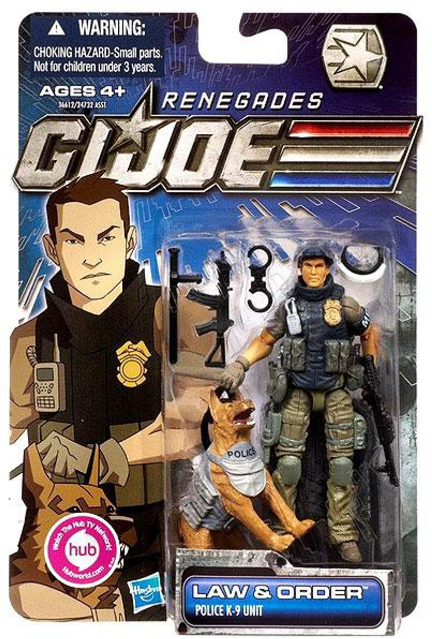 GI Joe 30th Anniversary Renegades Law & Order Action Figure