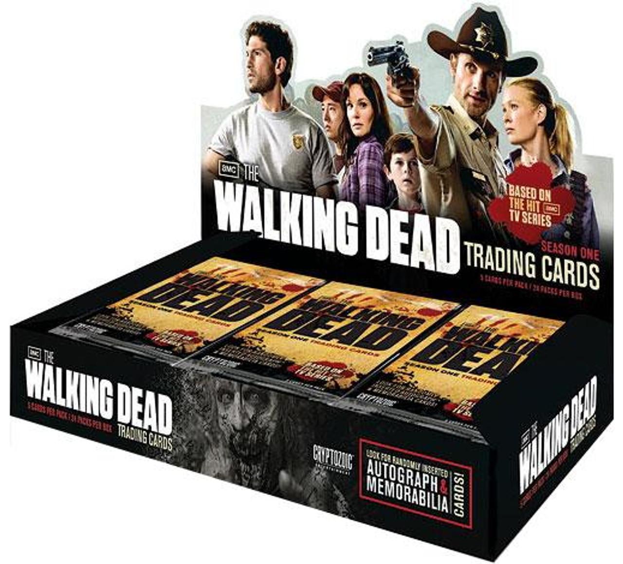 The Walking Dead AMC TV TV Season 1 Trading Card Box Trading Card Box
