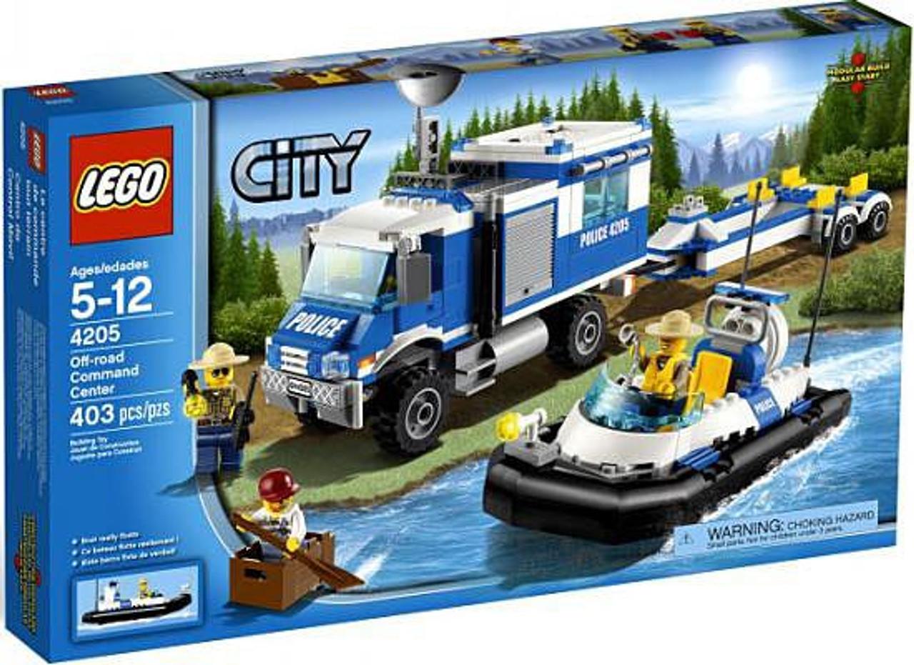 LEGO City Off-Road Command Center Set #4205