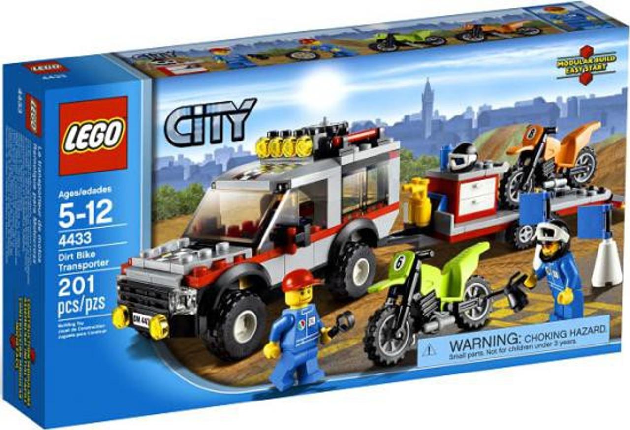 LEGO City Dirt Bike Transporter Set #4433