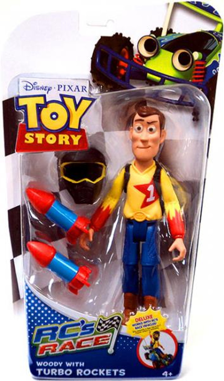 Toy Story RC's Race Woody Action Figure [Turbo Rockets]