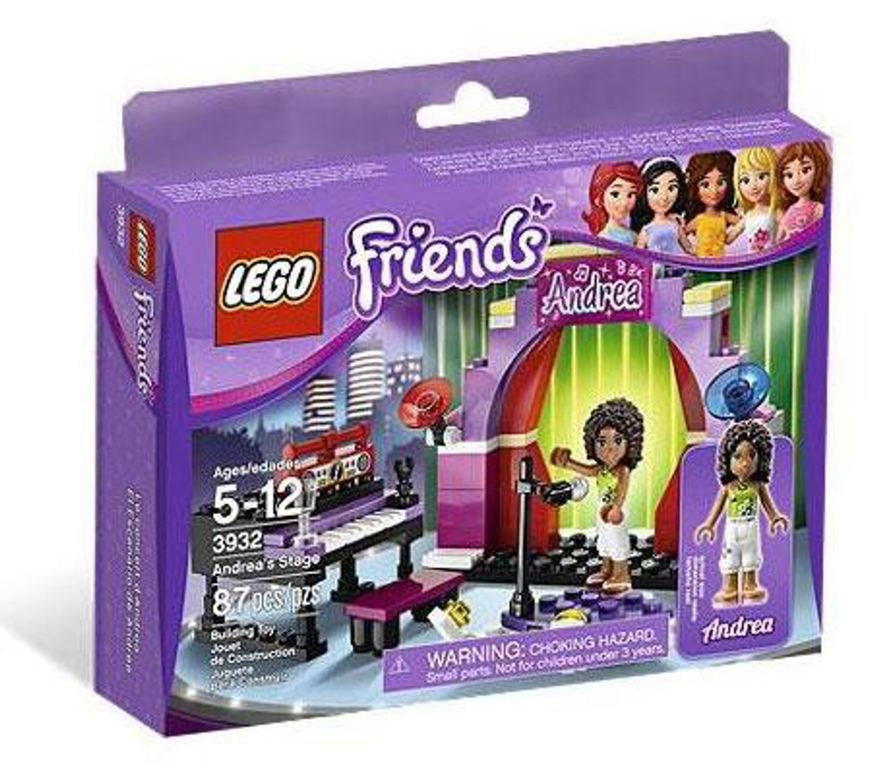 LEGO Friends Andrea's Stage Set #3932