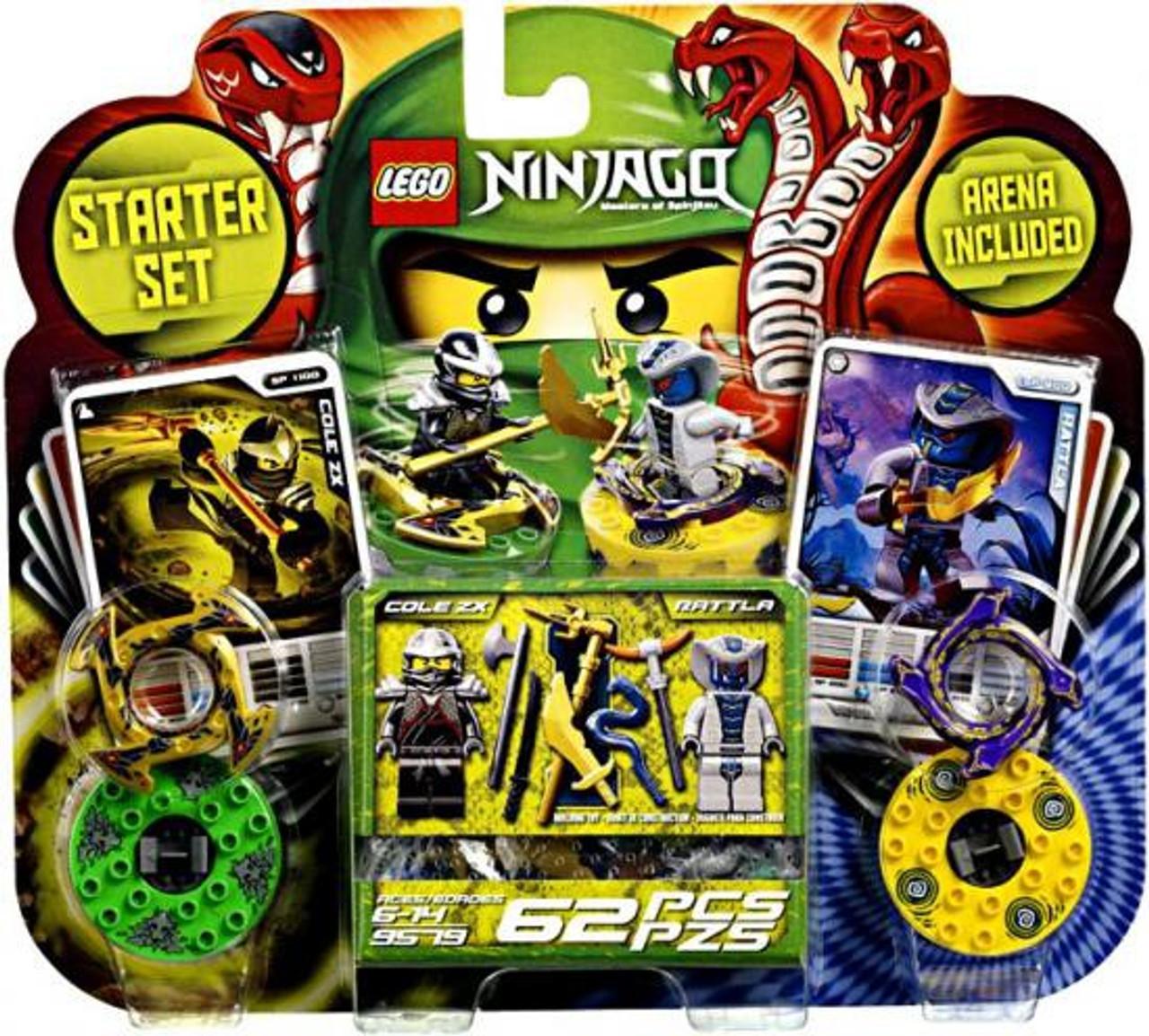 LEGO Ninjago Spinjitzu Spinners Starter Set Set #9579