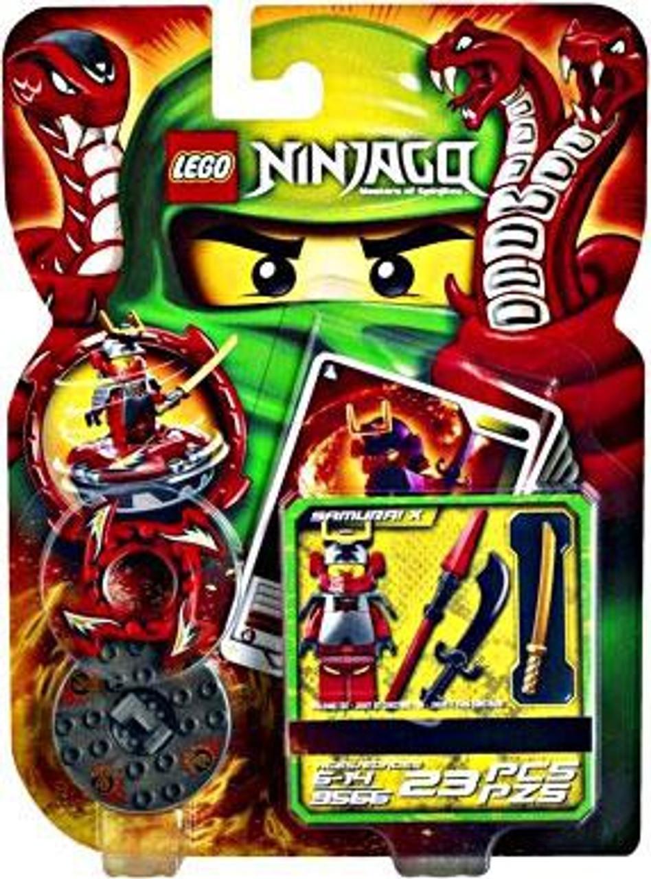 LEGO Ninjago Spinjitzu Spinners Samurai X Set #9566