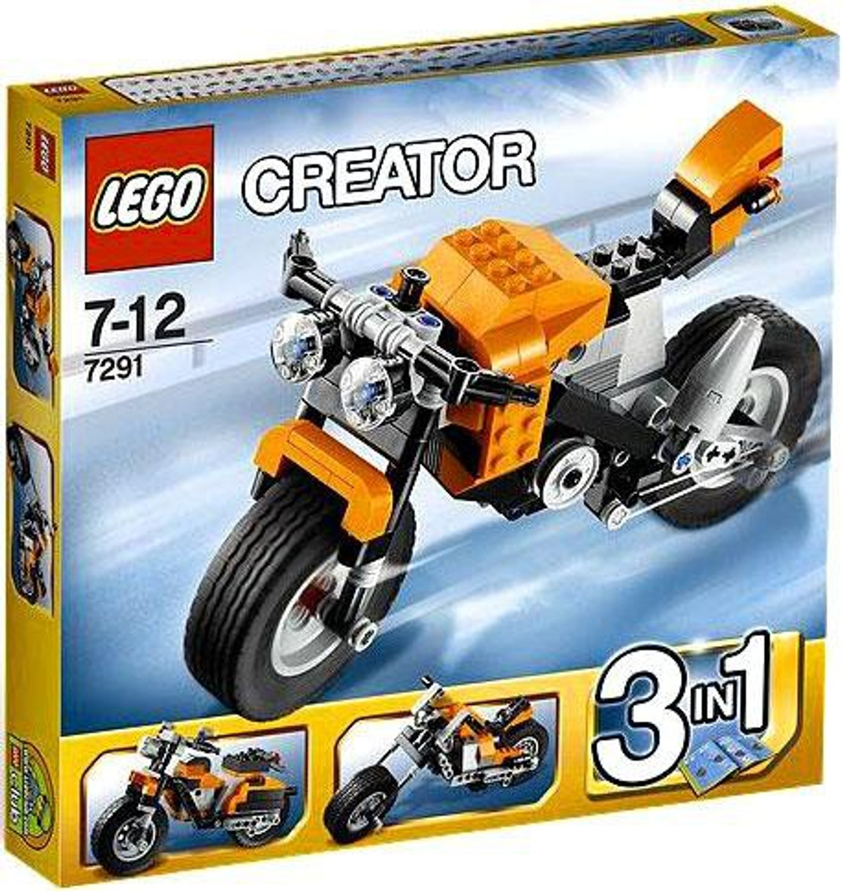 LEGO Creator Street Rebel Set #7291