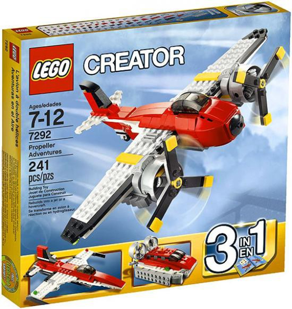 LEGO Creator Propeller Adventures Set #7292
