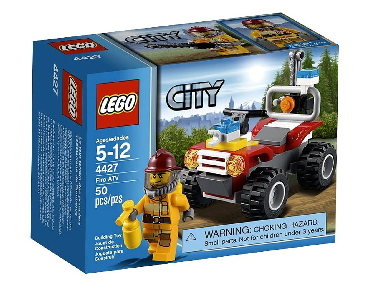 LEGO City Fire ATV Set #4427