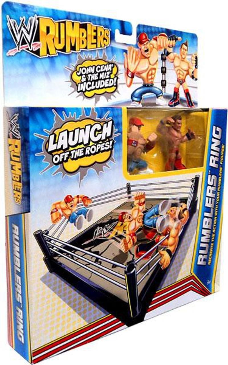 WWE Wrestling Rumblers Series 2 Rumblers Ring Mini Figure Playset