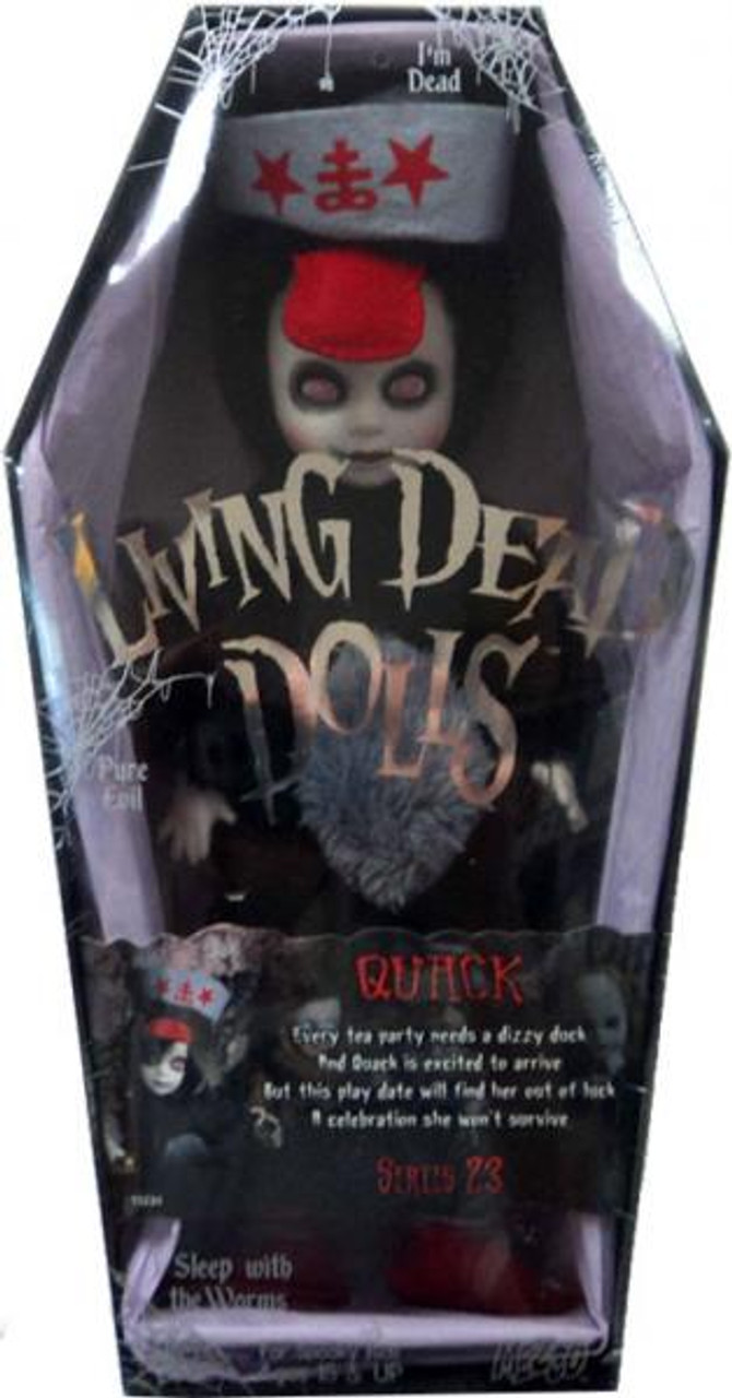 Living Dead Dolls Series 23 Quack Doll