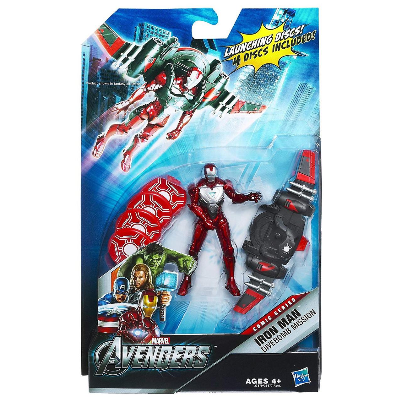 Marvel Avengers Comic Series Divebomb Mission Iron Man Action Figure