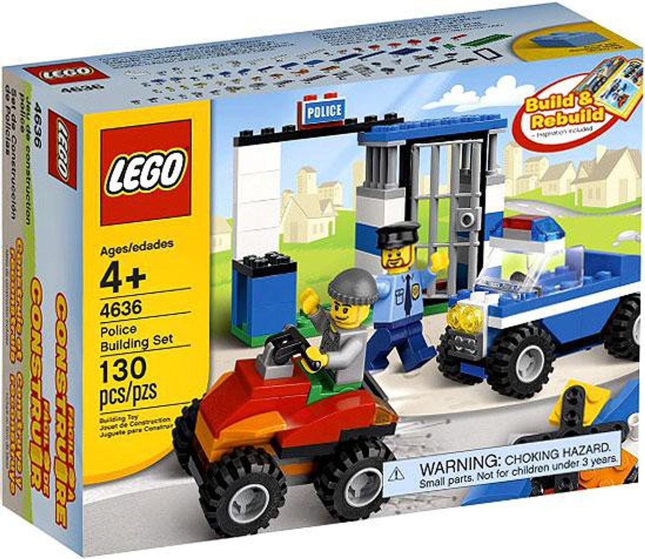 LEGO Police Building Set #4636