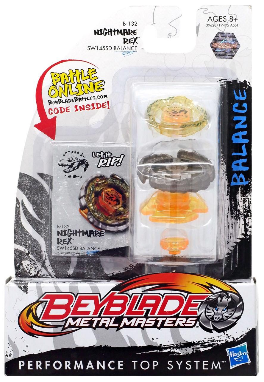 Beyblade Metal Masters Nightmare Rex Single Pack B-132
