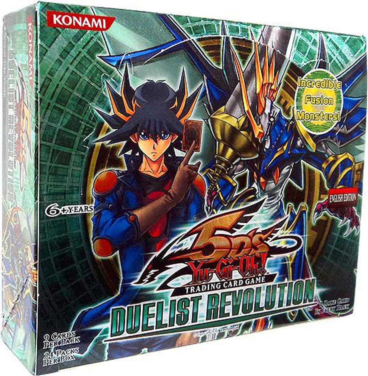 YuGiOh Duelist Revolution Booster Box [24 Packs] [Sealed]