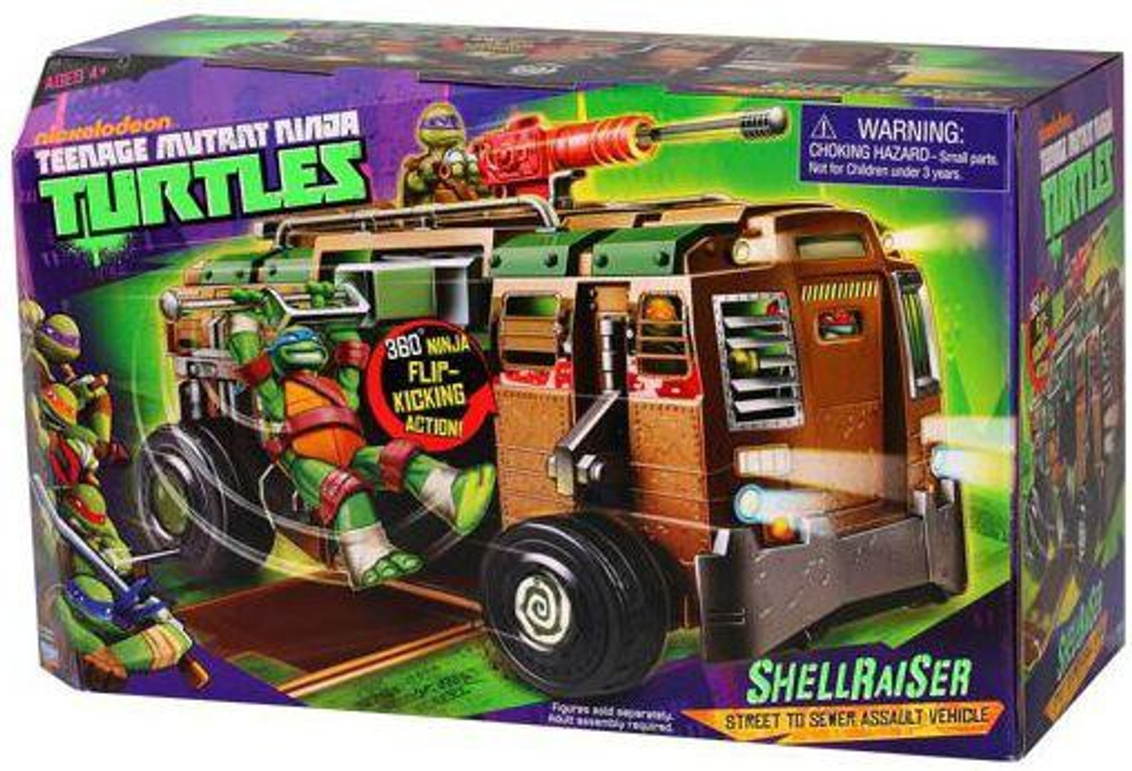 Teenage Mutant Ninja Turtles Nickelodeon Shellraiser Action Figure Vehicle