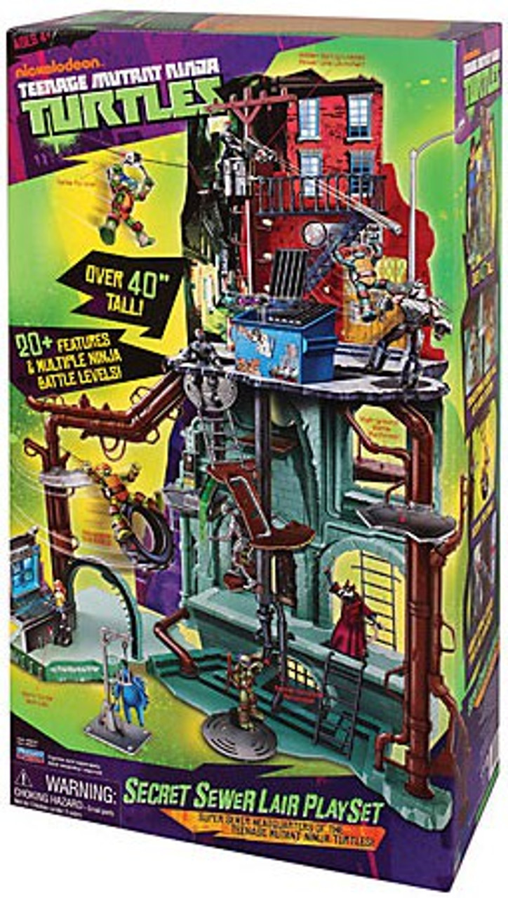 Teenage Mutant Ninja Turtles Nickelodeon Secret Sewer Lair Playset