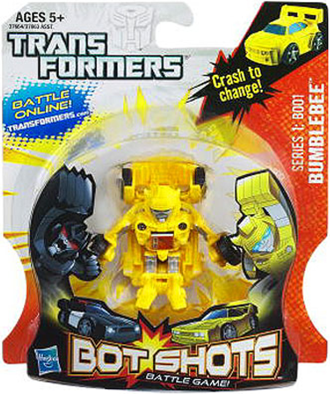 Transformers Bot Shots Battle Game Series 1 Bumblebee Action Figure B001
