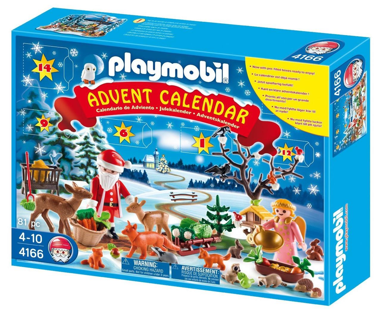 Advent Calendar Playmobil : Playmobil christmas forest winter wonderland set toywiz