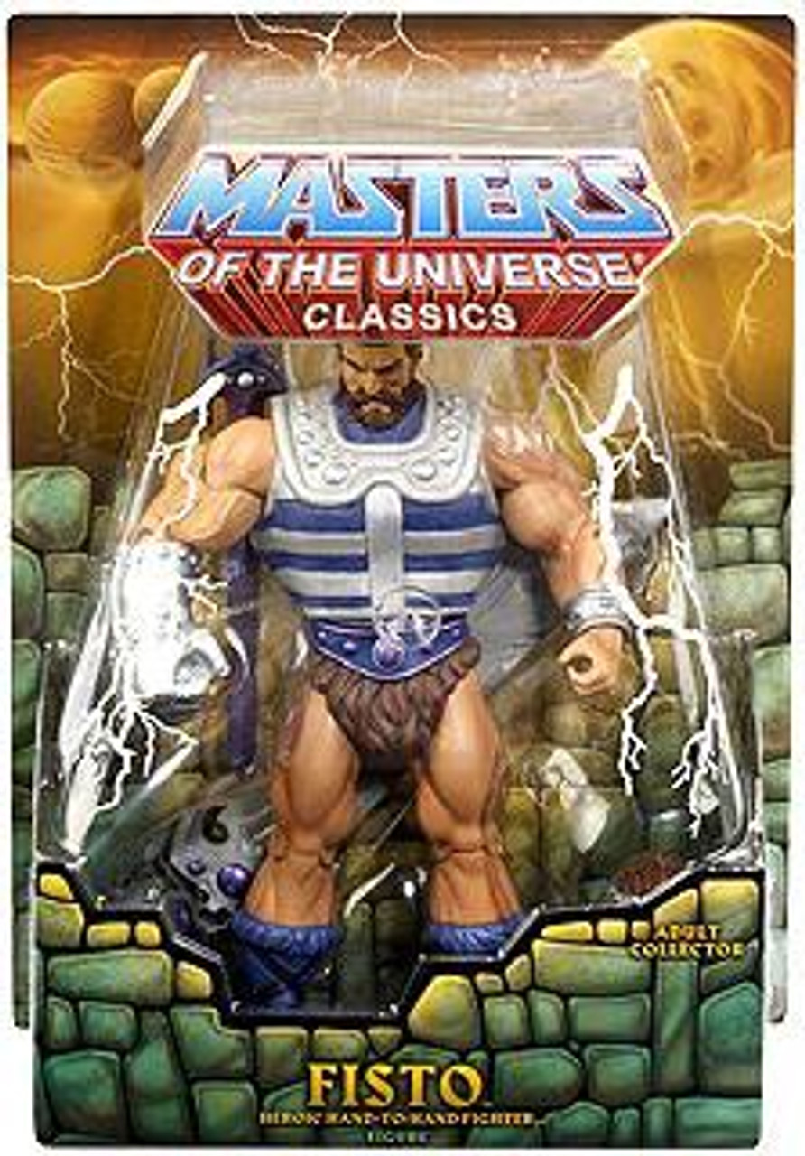 Masters of the Universe Classics Club Eternia Fisto Exclusive Action Figure