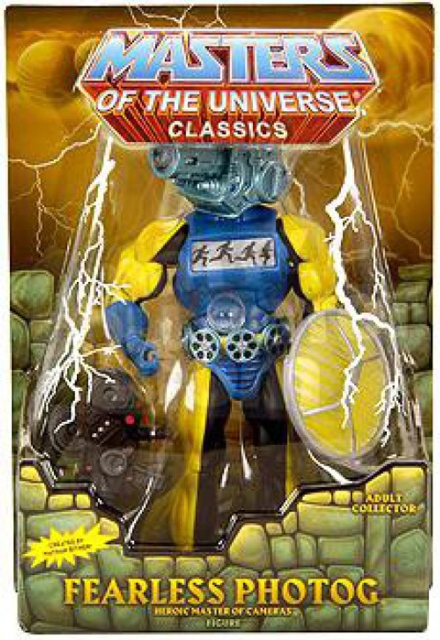 Masters of the Universe Classics Club Eternia Fearless Photog Exclusive Action Figure