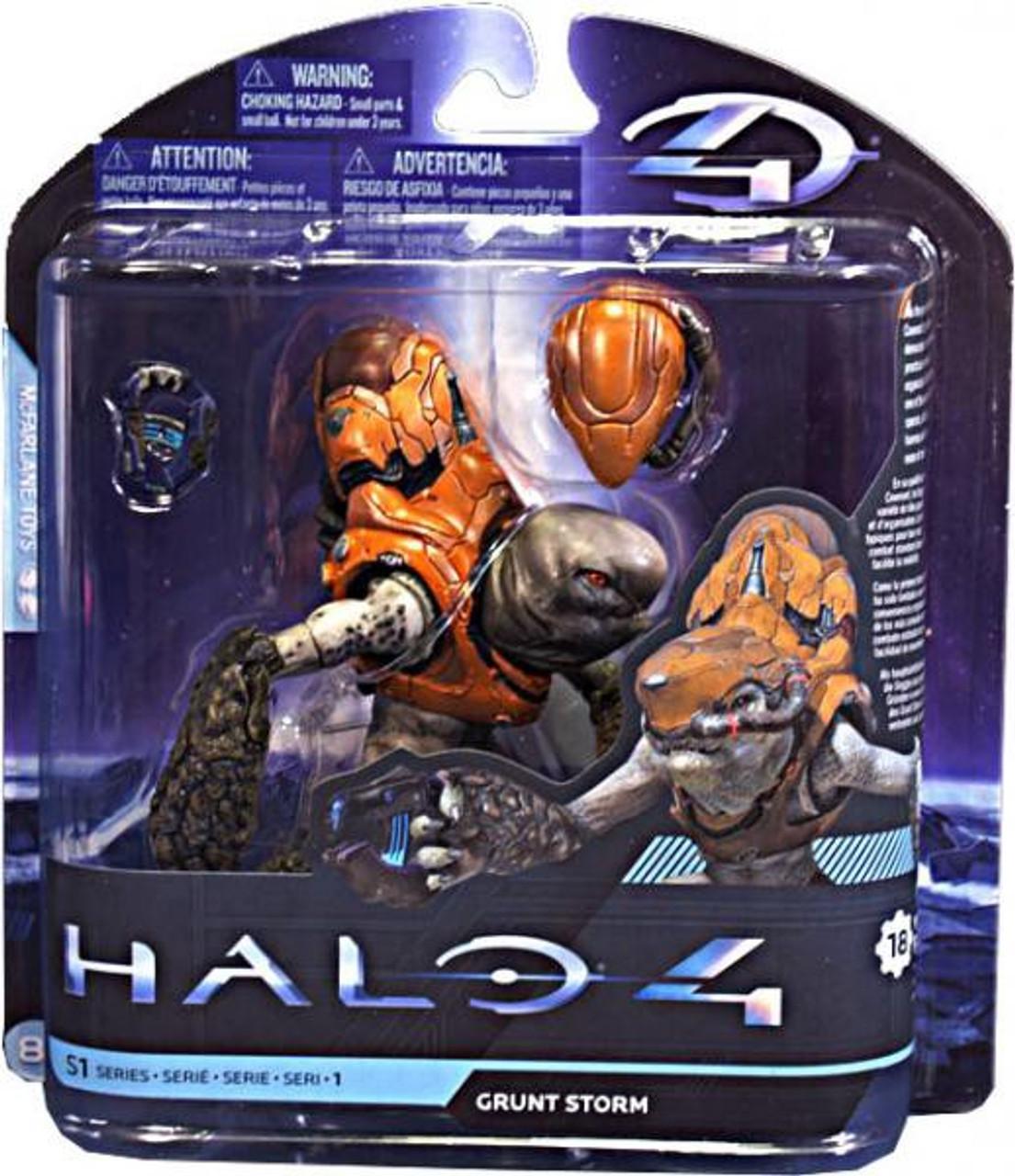 McFarlane Toys Halo 4 Series 1 Grunt Storm Action Figure