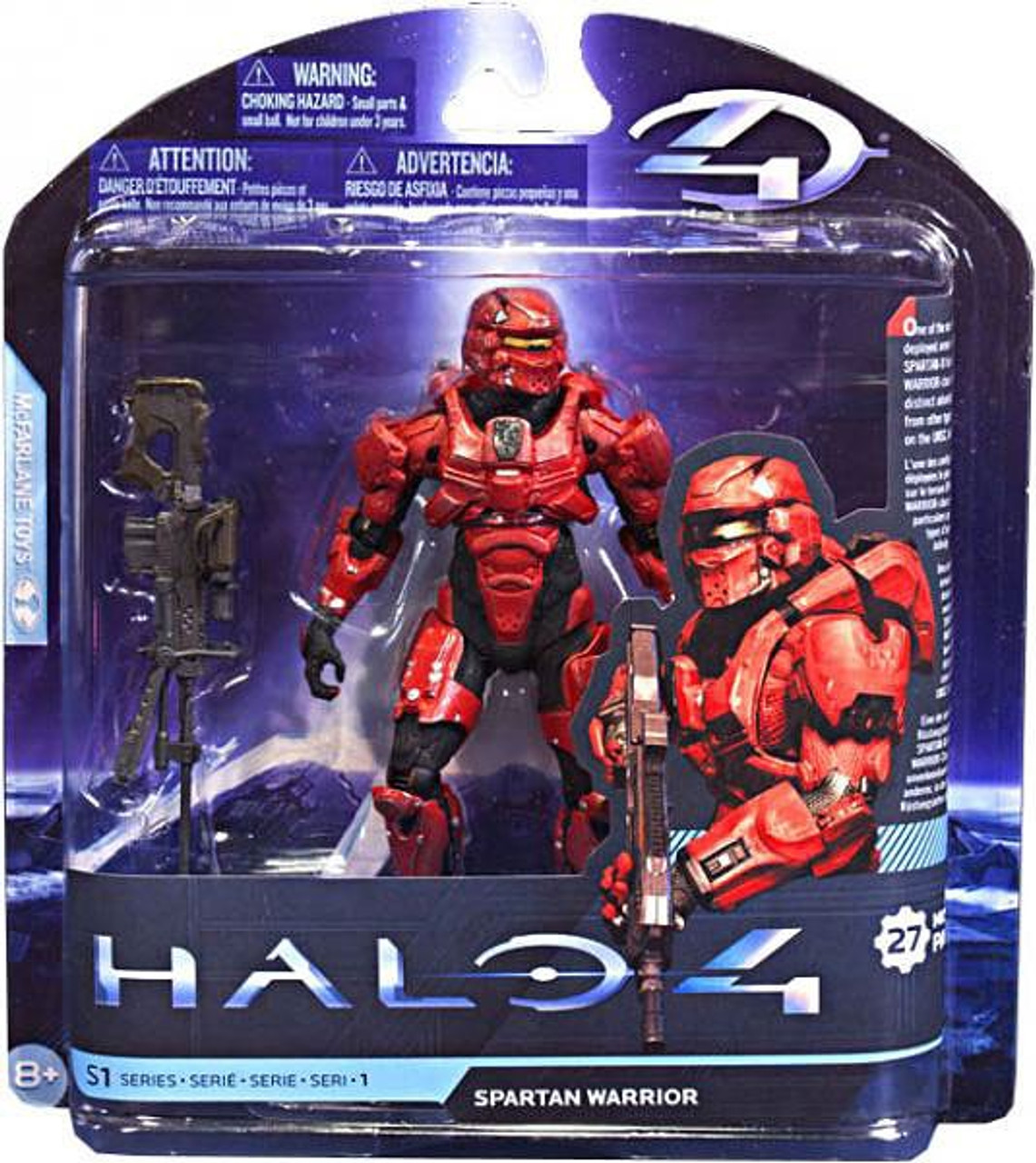 McFarlane Toys Halo 4 Series 1 Spartan Warrior Action Figure [Red]