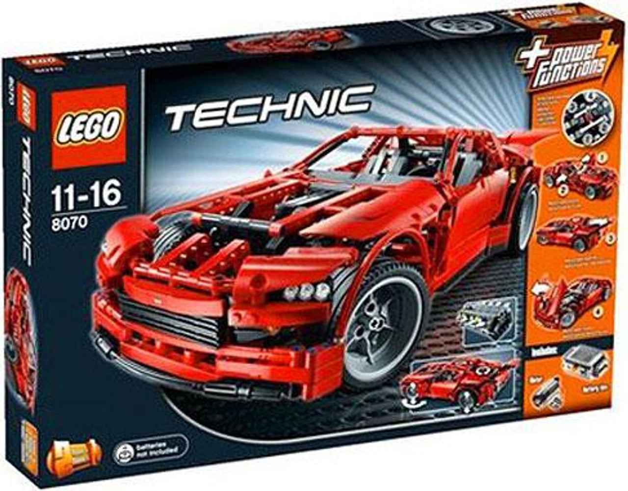 LEGO Technic Power Functions Supercar Set #8070