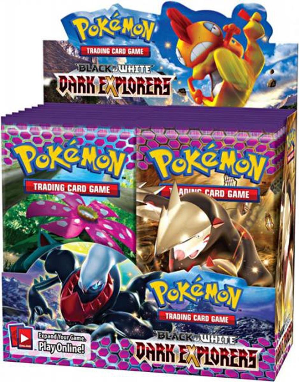 Pokemon Black & White Dark Explorers Booster Box [36 Packs]