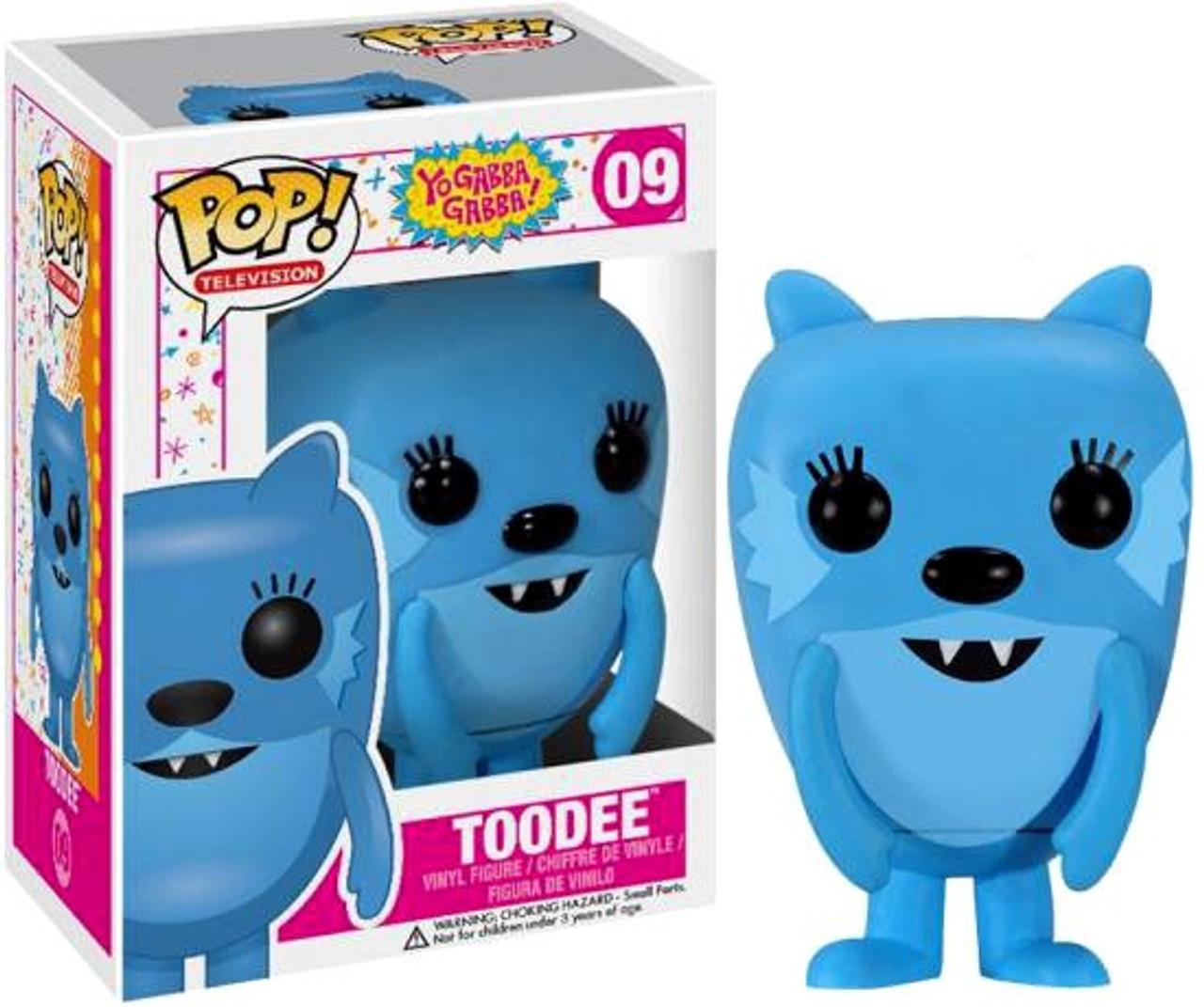 Yo Gabba Gabba Funko POP! TV Toodee Vinyl Figure #09