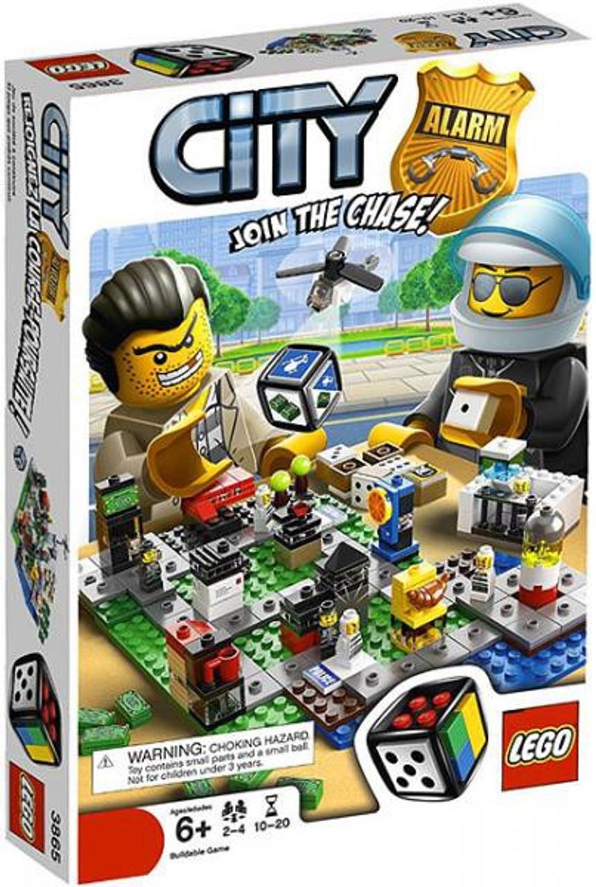 LEGO Games City Alarm Board Game #3865