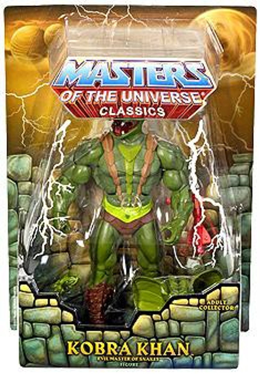 Masters of the Universe Classics Club Eternia Kobra Khan Exclusive Action Figure