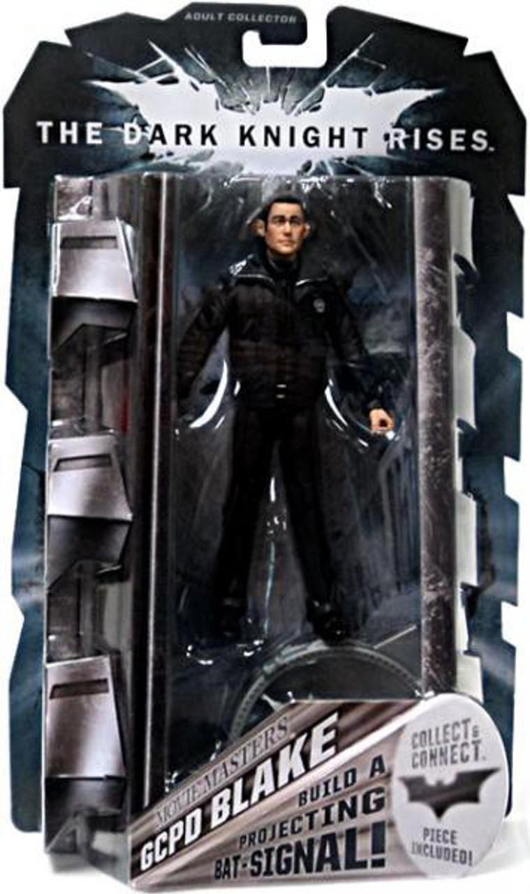 Batman The Dark Knight Rises Projecting Bat Signal Series GCPD Blake Action Figure