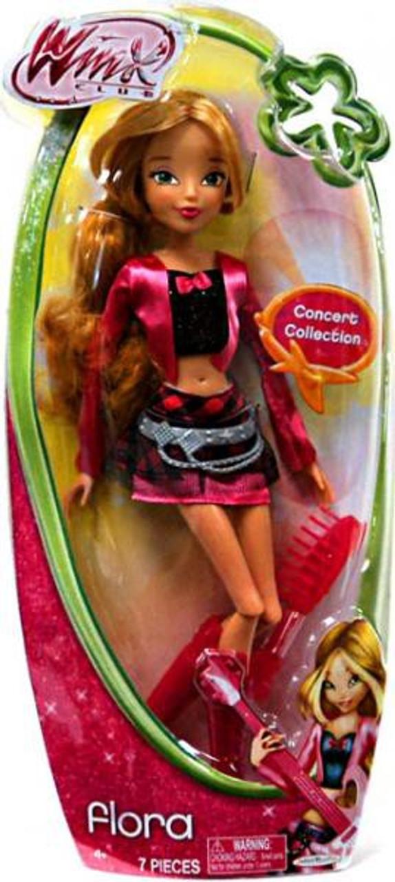 Winx Club Flora 11.5-Inch Doll [Concert]