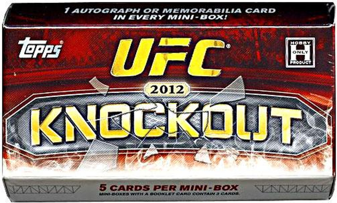 UFC 2012 Knockout Trading Card Pack