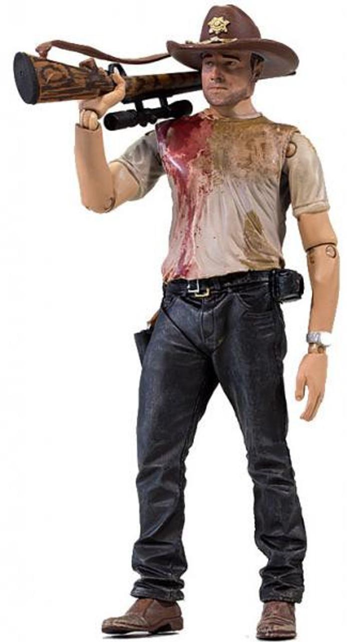 McFarlane Toys Walking Dead AMC TV Series 2 Deputy Rick Grimes Action Figure